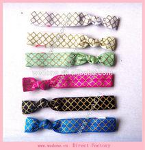 Custom Printed Hair Ties Wholesale Elastic Hair Ties