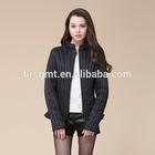 Fashion heated winter windproof warm varsity women down jacket/Chinese clothing manufacture