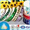 custom floral print for decoration ribbon