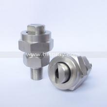 SS316 flat fan spray jet water nozzle