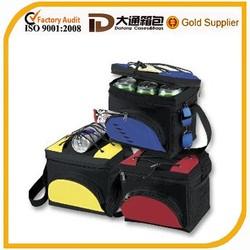 Hotsale shoulder strap insulated cooler bag for frozen food