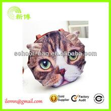 pesonailty formation cat head single shoulder bag style