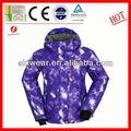 Newtest 2014 print tiger veste à capuche imperméable à l'eau