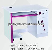 Modern Design MDF White Office /Home Furniture Wooden Closet PC Computer Desk (DX-801)