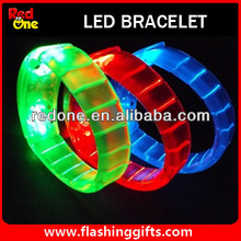 Party show light 8 sound led bracelet for party show sound led bracelet OEM is available