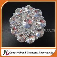 Rhinestone Brooch DIY Bridal Brooch Bouquet Supply, Sparkling Bling Wedding Cake Broach, Garder, Hair Comb