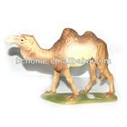 resin realistic cattle animal figurine/animal statue