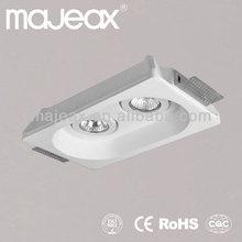 gypsum plaster led lux down light