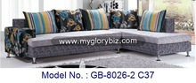 modern style cheap price fabric corner sofa