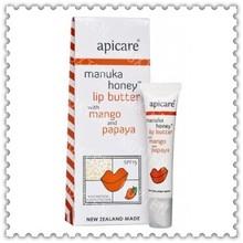 manuka honey lip butter with mango and papaya