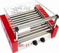 In vendita a caldo cane griglia/elettrico hot dog carrello/cane cialda calda maker