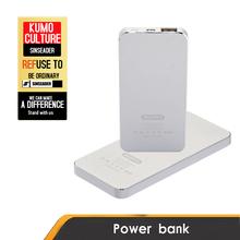 Ultra thin Portable USB power bank 4000mAh