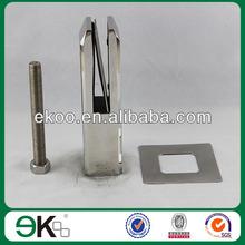 cnc saddle clamp,australian inox glass spigot for pool fence