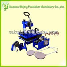 Manual combo 8 in 1 heat transfer machine BQ180F