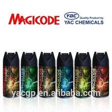 150ml brand name alcohol-free deodorant body Spray OEM