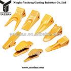 excavator bucket teeth and adaptors