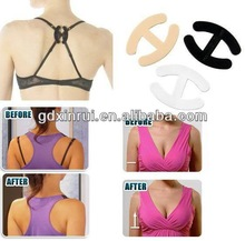 Small H shape invisible bra enhancer clips bras pack perfect
