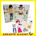 e1012 2014 الساخنة العلامة التجارية الجديدة للأطفال الإبداعية الرضيع والطفل المغناطيسية التعلم التعليمية كتاب الجسم clothers