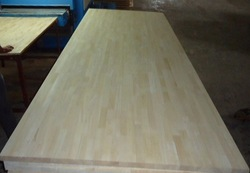 Rubber wood finger joint board for sale