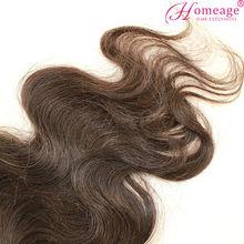 homeage raw virgin body wave indian human zury hair