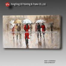 Realism canvas fashion Lady oil painting NHF-13090063