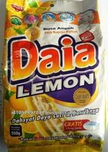 Daia Detergent Powder 900 gr lemon