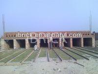 German Technology! Hoffman Kiln with advanced technology & Small-section Drying Chamber Auto-brick Making Machine,