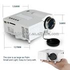 Portable Multimedia LED UC28 Mini Projector support HDMI AV-in Video VGA