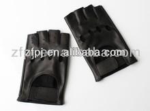 Genuine sheep skin men driving gloves
