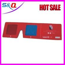 cheap custom print paper logo 3d glasses for sale