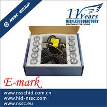 DIY installate!! factory price E-mark,CE,Rohs certificate drl led daytime running light for universal car model