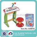 los niños de plástico juguetes electrónicos de órganos