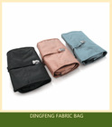 Fabric sewing bag Polyster handbags Light fasteners