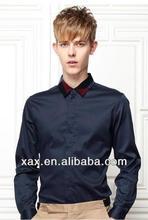 Italian style dress shirt design for man, black dress shirt, formal long sleeve shirts