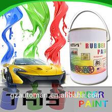 4liter liquid rubber plastic dip car body paint rubber paint car