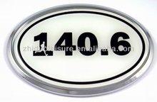 Kirksite custom chrome car emblems