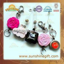 popular promotional gifts,rhinestone badge reels