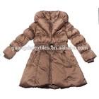 2014 new design Hot sale windproof waterproof cheapest girls winter coat