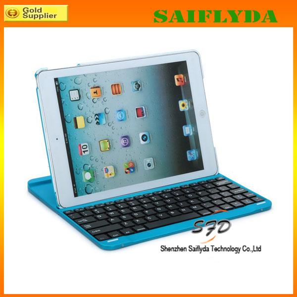 Caliente venta de 360 de rotación del teclado del Bluetooth para el iPad aire 5