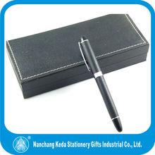 2014 new design Beautiful Elegant Metal Signature 0.5mm free ink roller ball pen