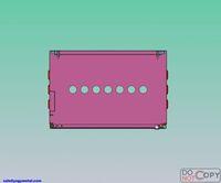 Indoor outdoor electric meter box covers