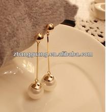 2014 fashion pearl earrings
