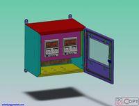 Indoor outdoor electric meter box parts
