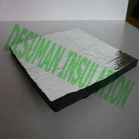 Excellent PVC/NBR Foam Board Insulation Backed With Aluminum Foilium Foil