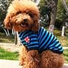Wholesale plain dog T-shirts, bulk plain t-shirt, pet T-shirt with stripes
