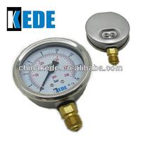 63mm bar and psi manometers