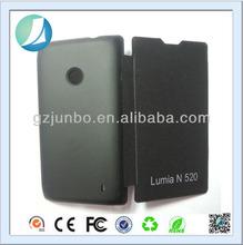 Folio Flip Leather Case for Nokia Lumia 520