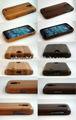 عالية الجودة الخشب قضية الهاتف النقال لسامسونج غالاكسي s4 السعر المنخفض