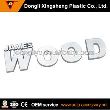 James wood chrome customer sticker car