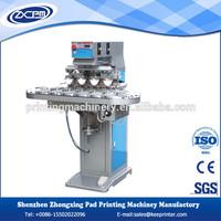 Digital electric pad printer servo printing machine